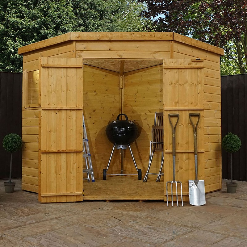 corner sheds click image to enlarge 7 x 7 waltons tongue and groove wooden GMTNLOX