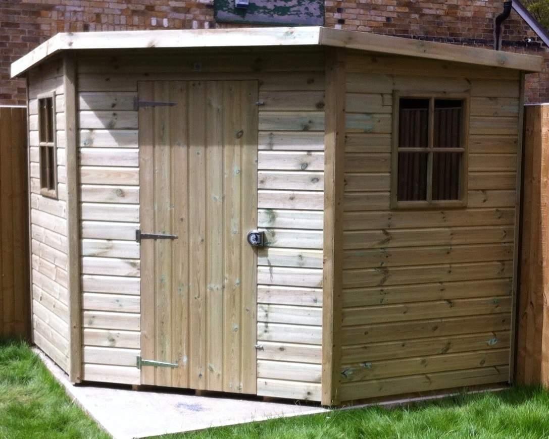 corner sheds winchester corner shed - premium treated garden sheds   ace sheds WHLYAUP