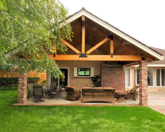 covered patio ideas traditional patio covered patio design, pictures, remodel, decor and ideas  - OBXLUJG