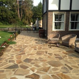 crazy paving image is loading new-riven-yorkstone-crazy-paving GQWSTYL