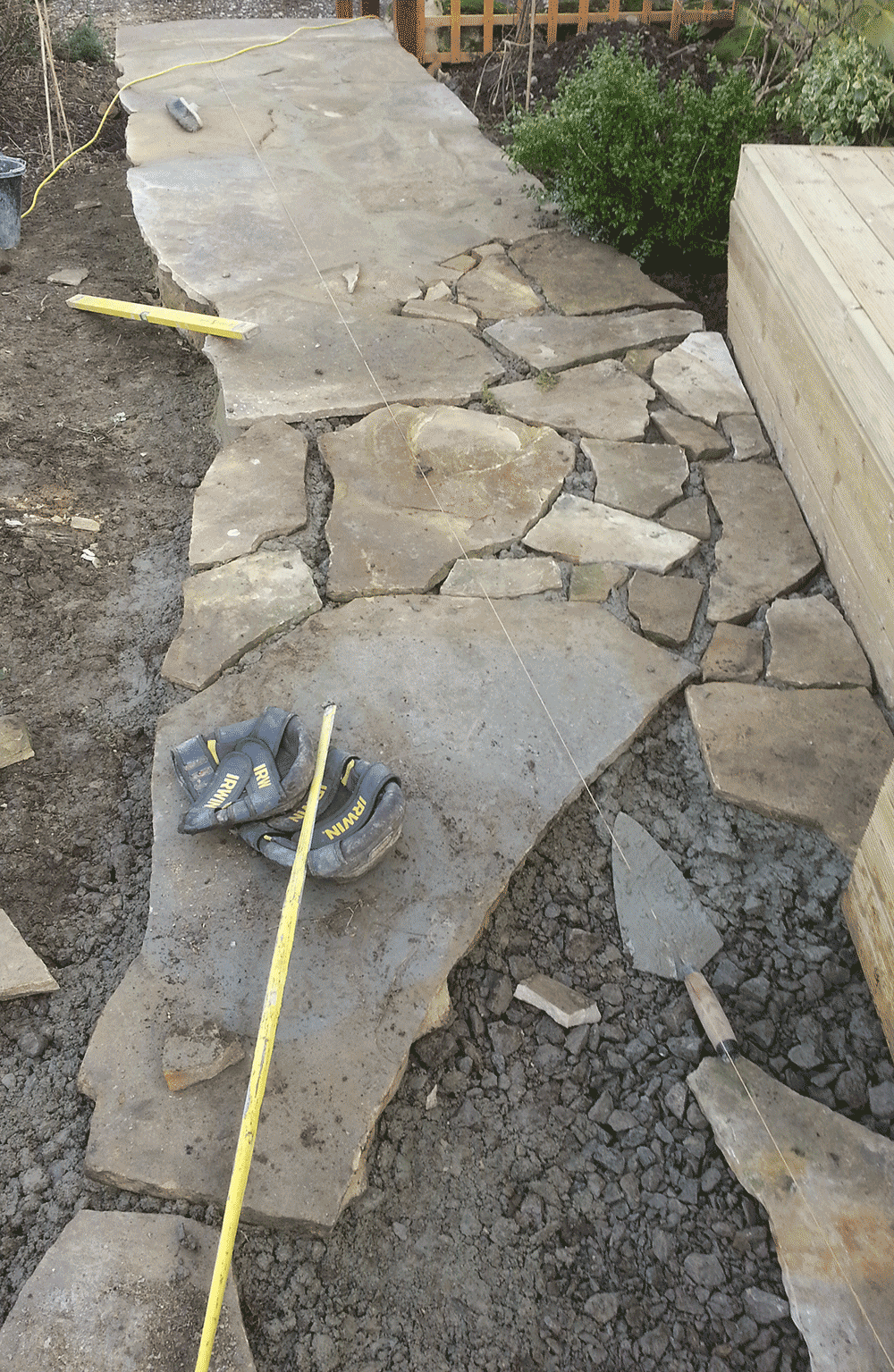 crazy paving part completed MEFXTCS