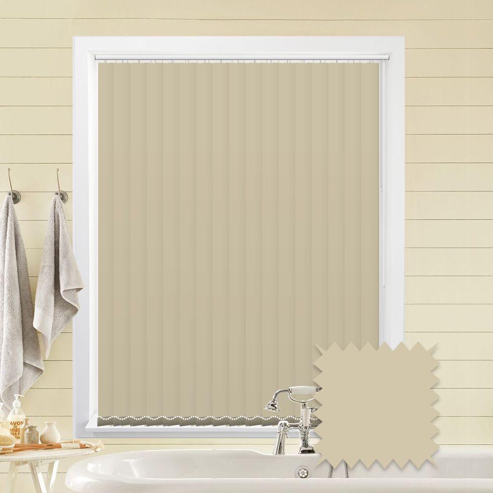 cream vertical blinds   bermuda plain cream blackout vertical blinds - just MRBFCNZ