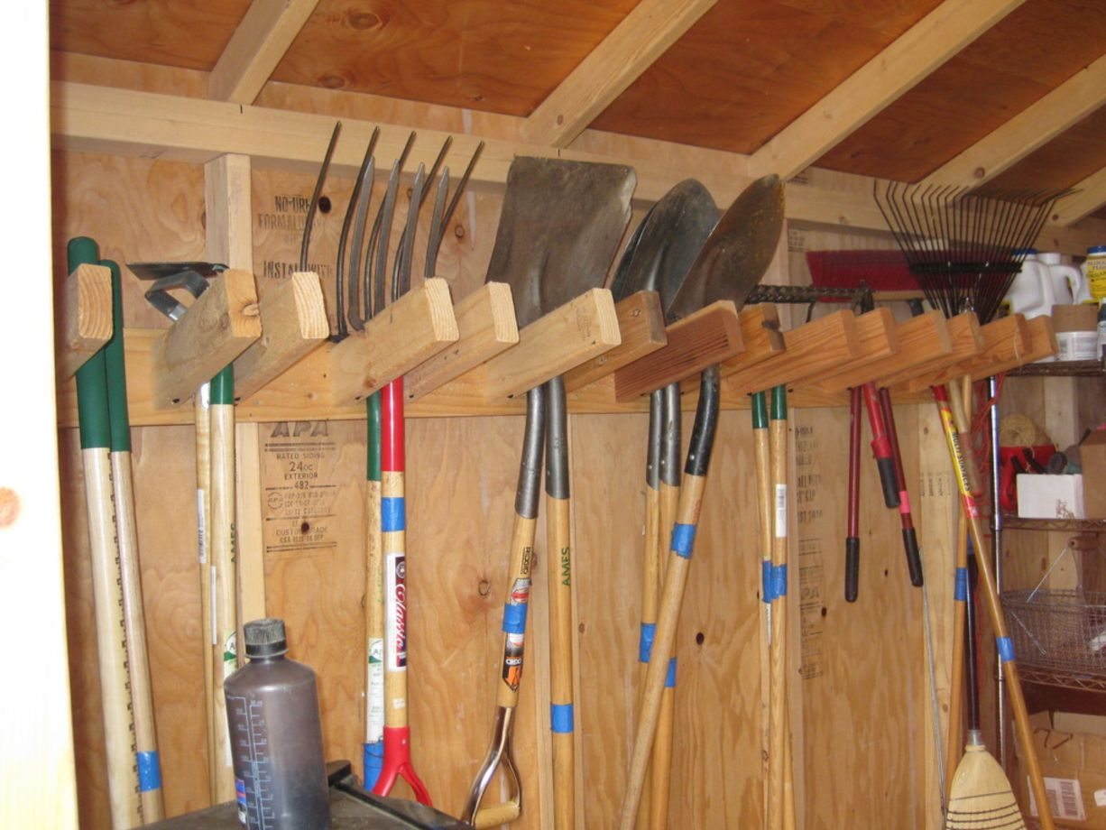 creative garden tool storage ideas (8) CIKCPTL