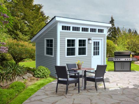 custom sheds delivered. built. guaranteed. BOSTKAR