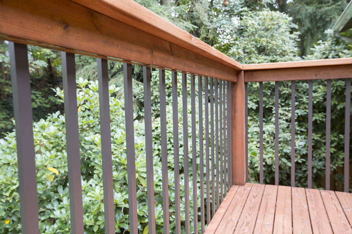 deck balusters installing deck railing   aluminum balusters for deck   dunn lumber GRVCHBX
