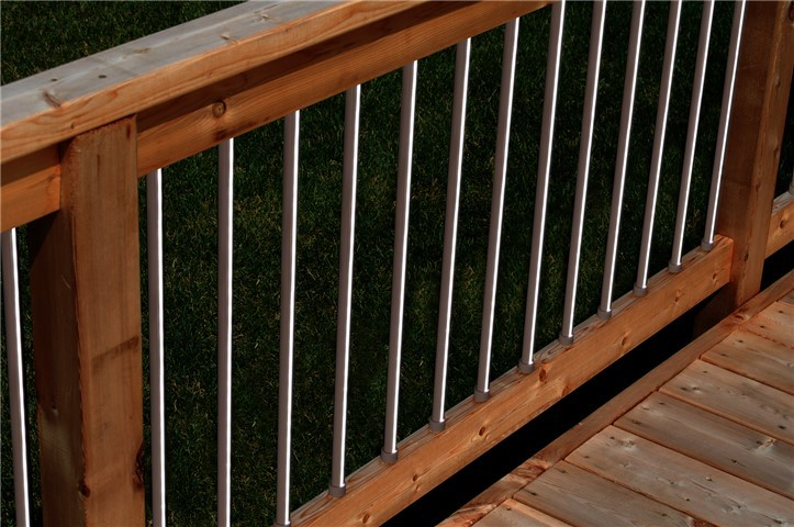 deck balusters linear lighted baluster ... WDNBWAA