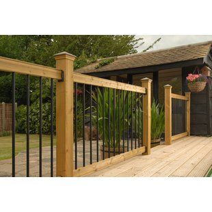 deck balusters traditional deck straight railing RDRLCAT