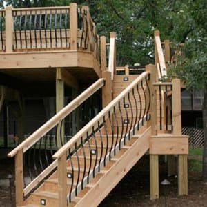 deck balusters vienna series bow balusters by fortress ZZUWESC