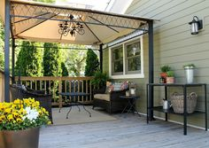deck canopy crownsville gray hc-106 by benjamin moore YOMTZGG