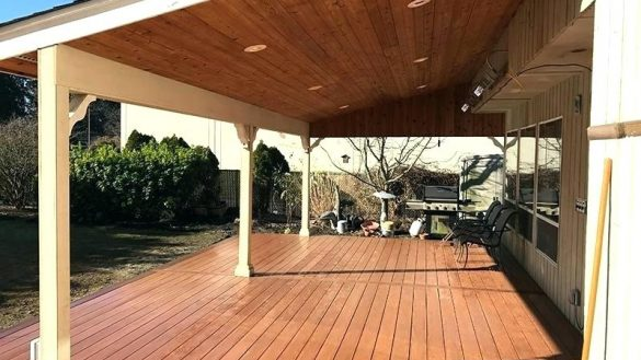 deck covering home and furniture: best choice of deck cover ideas at outdoor patio QHEAJXG