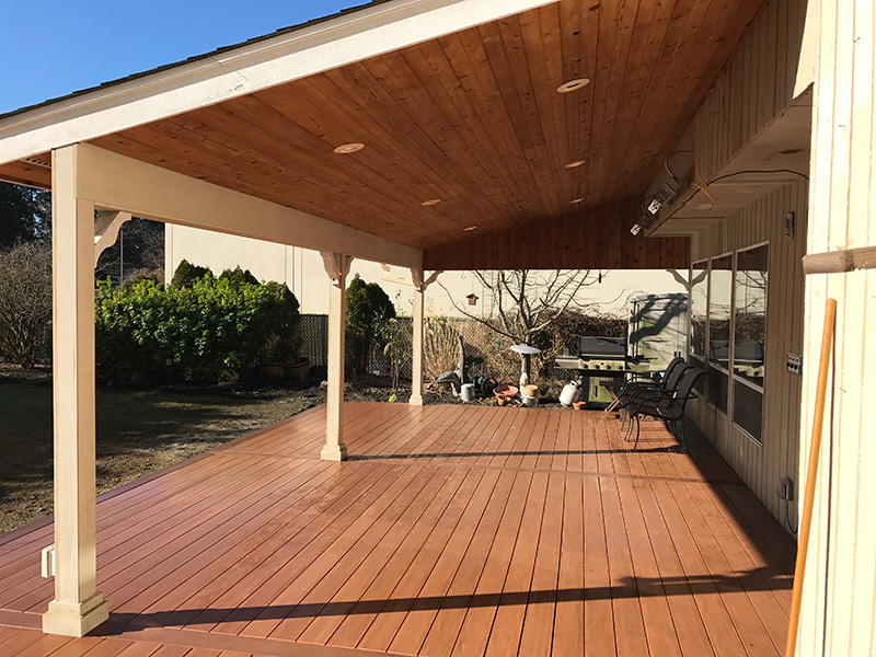 deck covers letu0027s face it, outdoor life in snohomish county requires a backyard deck; NFEYTJG