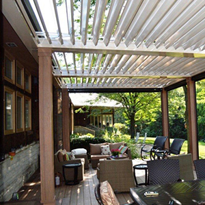 deck covers remote controlled patio cover XPJHBRB