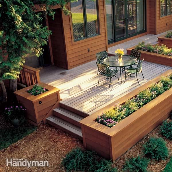 deck planters built-in planter ideas - projects, ideas and inspiration! including, from  u0027family HBOXZKA