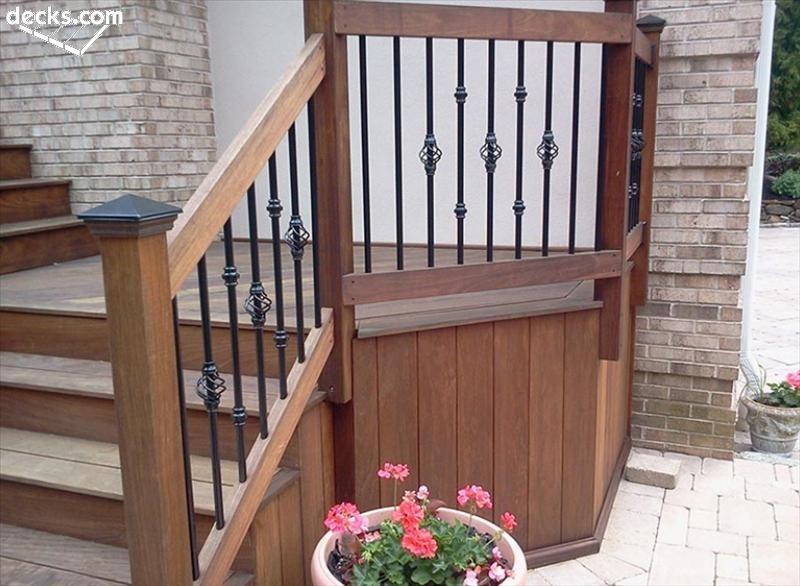 deck railing designs JHECUUD