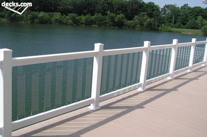 deck railing designs VZYJHNC