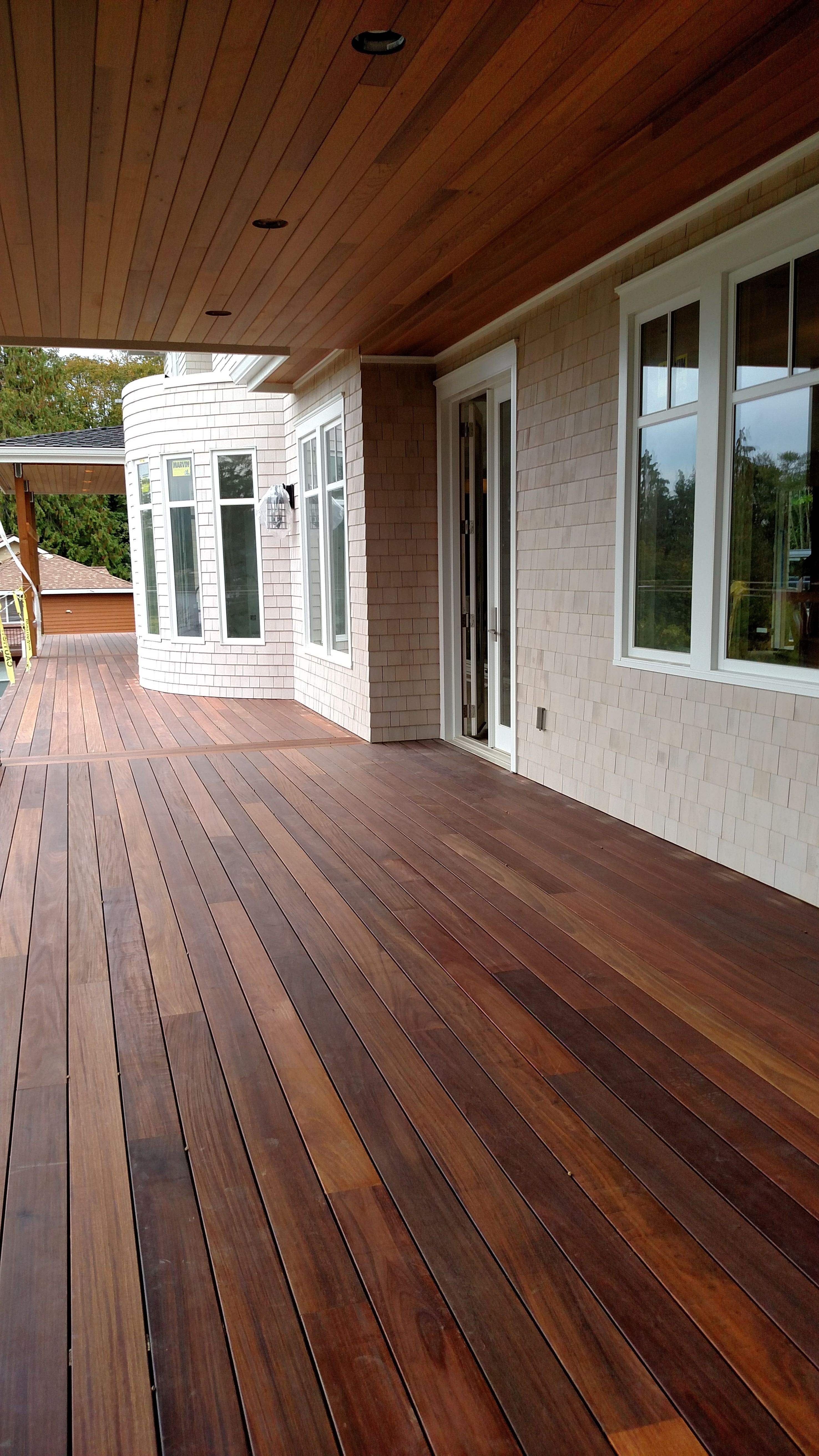 deck stain colors mahogany decking applied with penofin exotic hardwood exterior stain in  proportions WTIGJJP