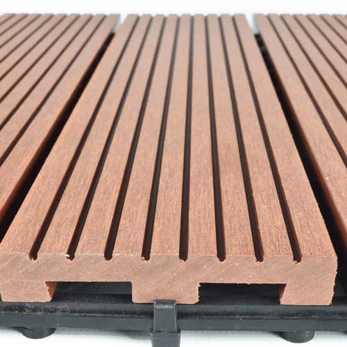 decking tiles deck tiles - outdoor wood plastic decking tile CDRDHLS