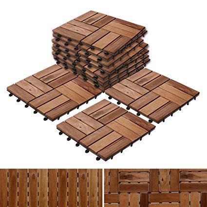decking tiles patio pavers | composite decking flooring and deck tiles | acacia wood SXRMIMZ