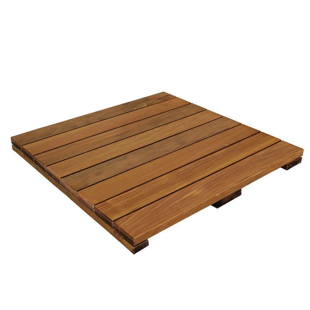 Choosing the decking tiles