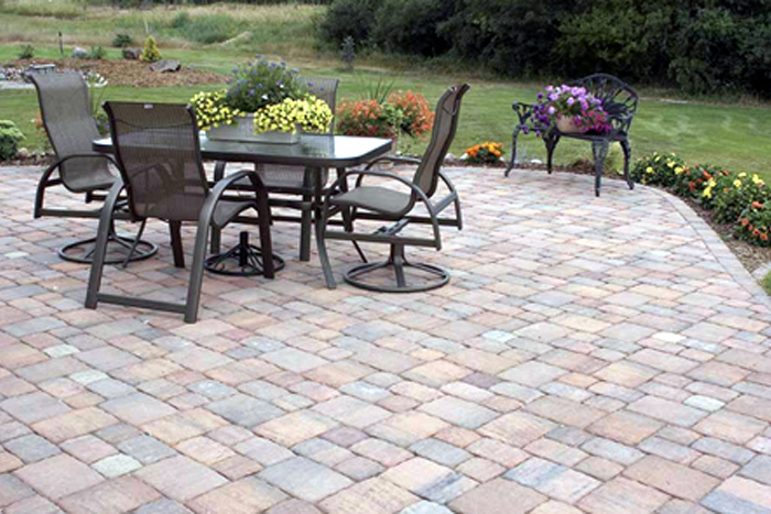 different types of patio pavers GOWWYXK