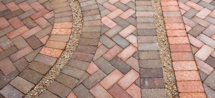 diy a brick patio | doityourself.com GBYNNFI