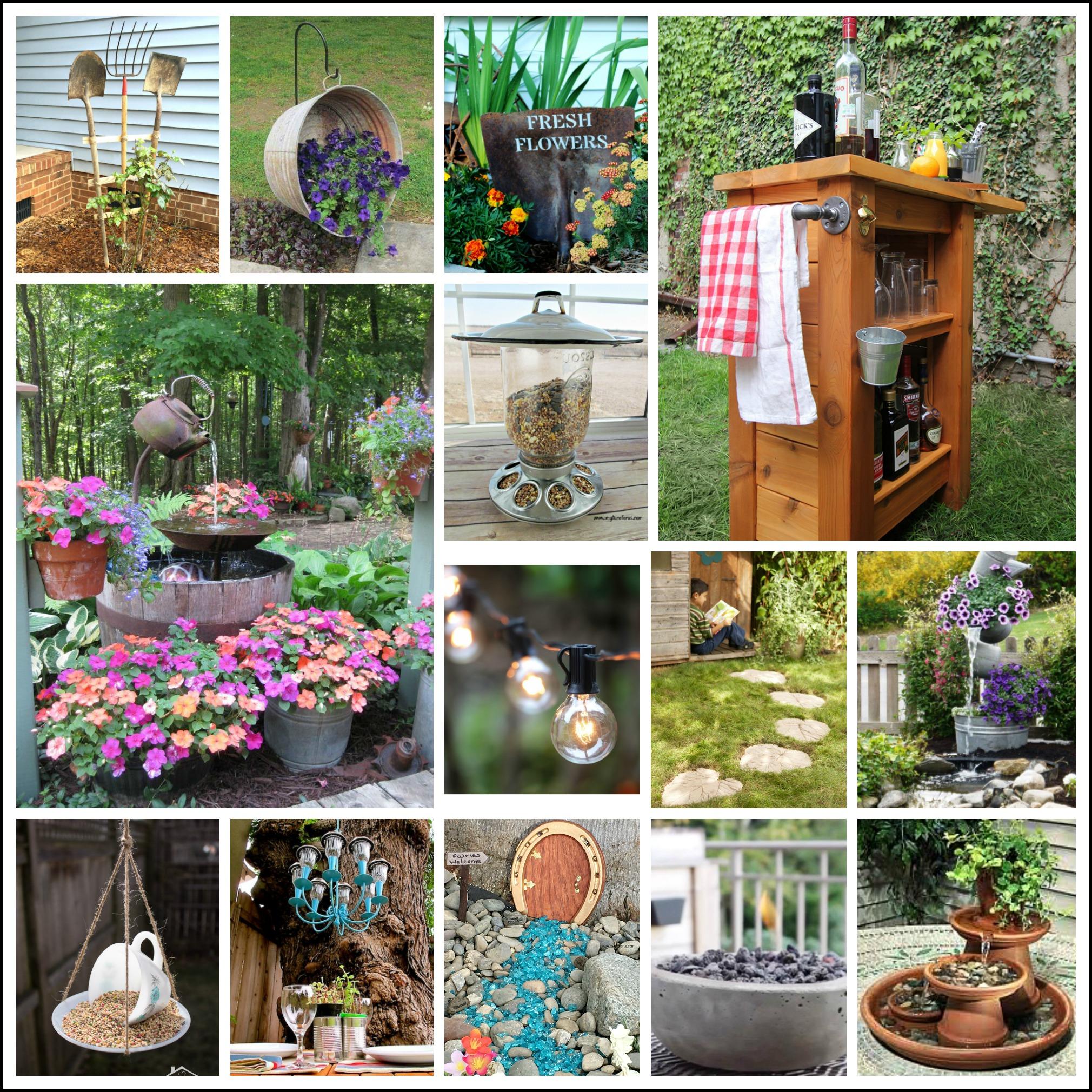 diy garden ideas backyard projects and garden ideas BRNLRXI