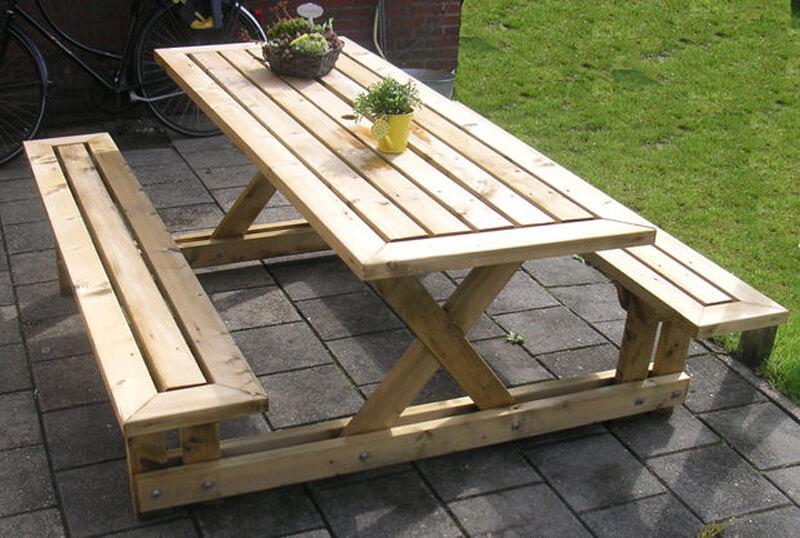 diy outdoor furniture diy lincoln lawn table JCISWLR
