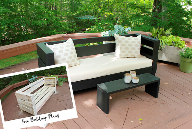 diy outdoor furniture outdoor furniture build plans - home made by carmona JEKAWRA