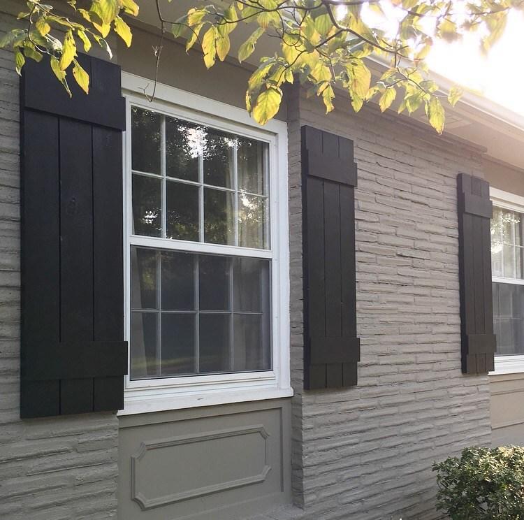 diy: outdoor shutters HSGPXEV