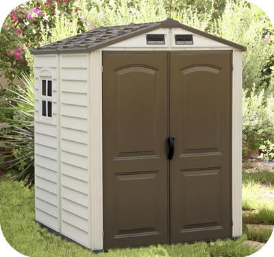 duramax sheds duramax 6x6 storemate vinyl storage shed kit JTQGTBM