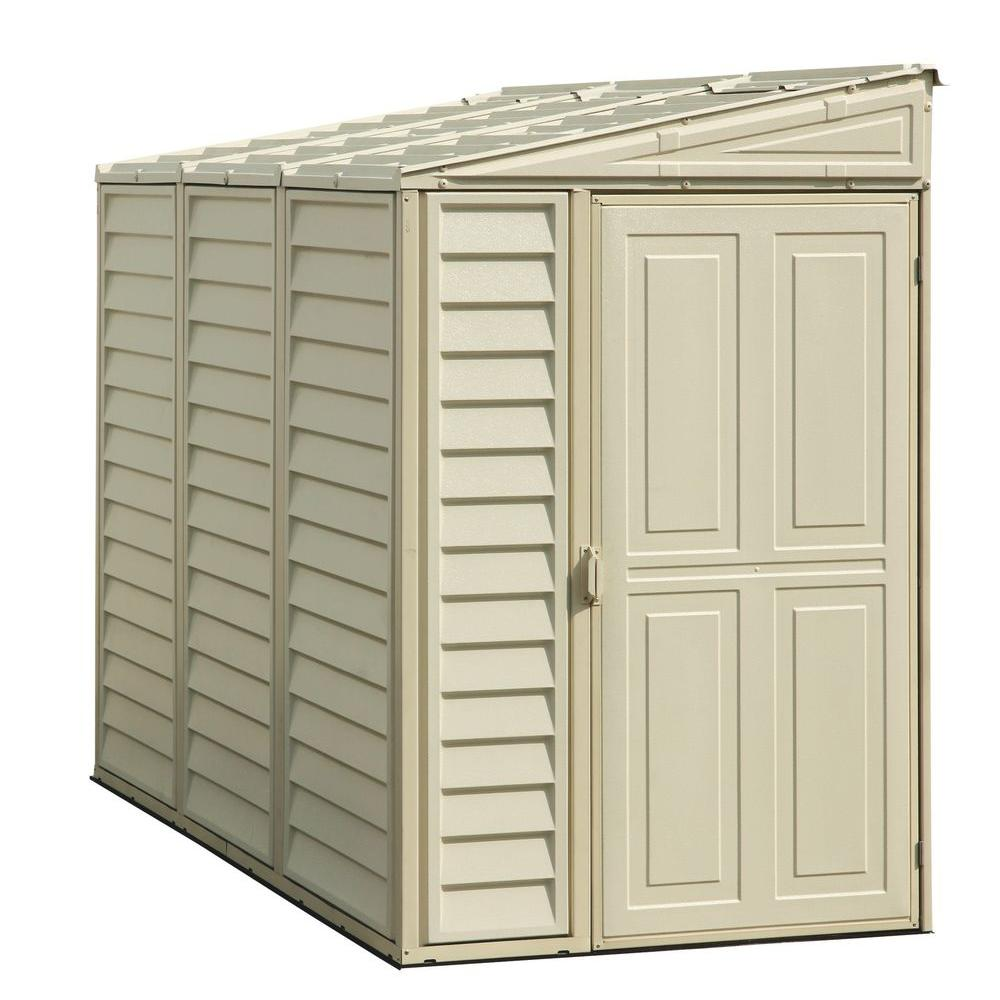 duramax sheds duramax building products sidemate 4 ft. x 8 ft. vinyl shed with WFAMUZP