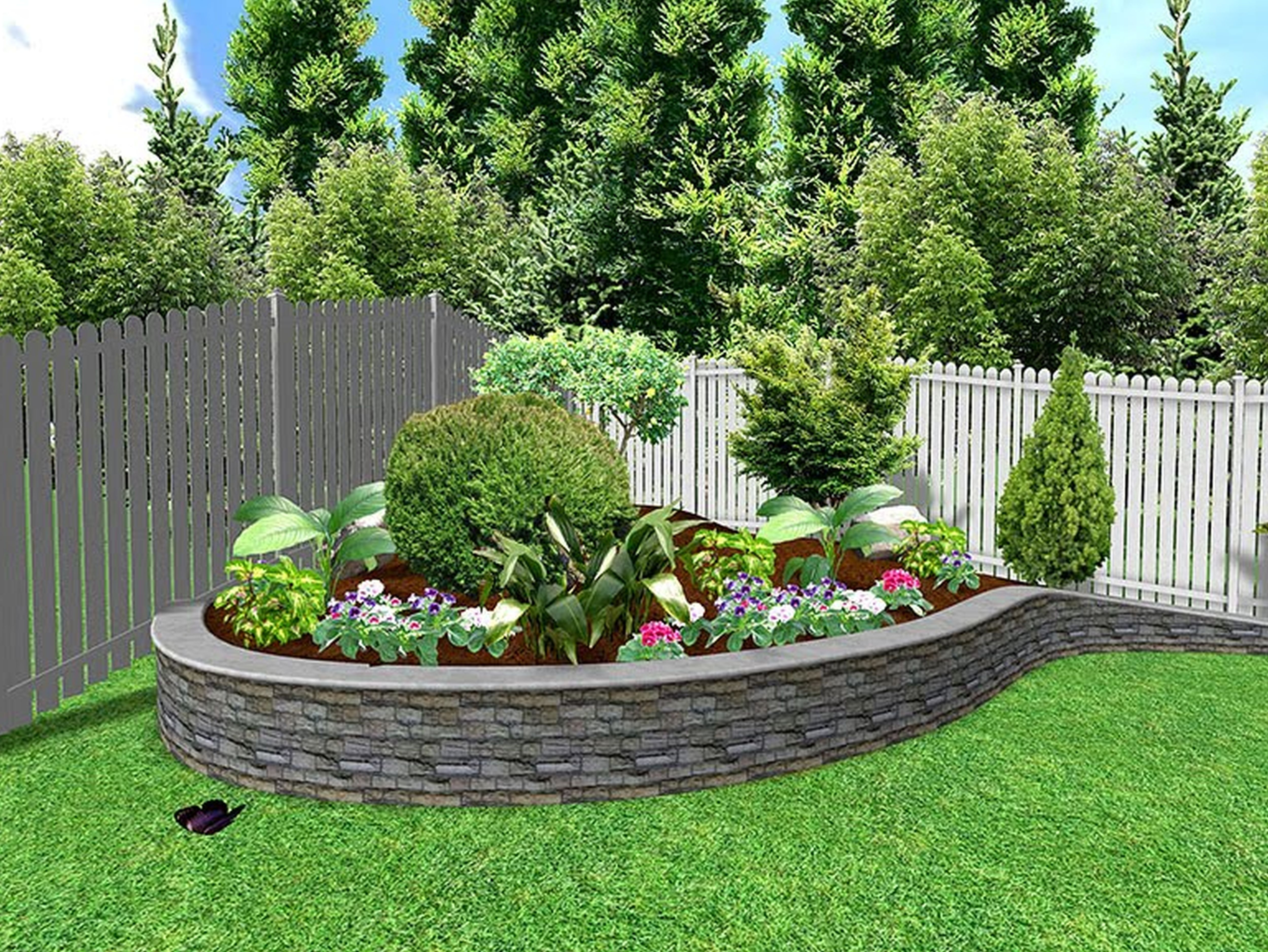 easy landscape ideas best and easy landscaping ideas for your in easy VPAWJAD