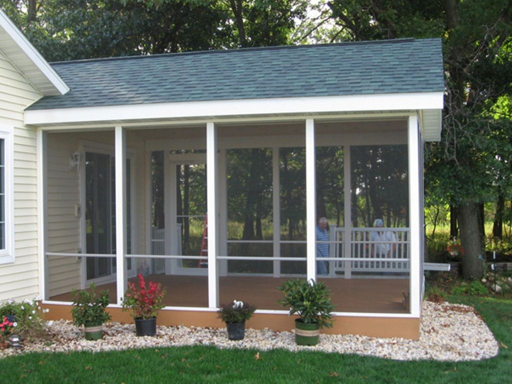 easy screened in porch ideas and photos - porch designs EWJYJDA