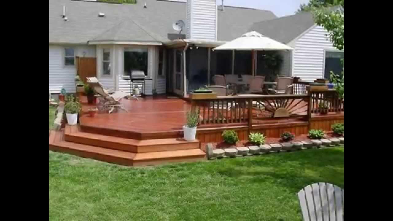 elegant pictures of backyard decks 2 WCKTAVE