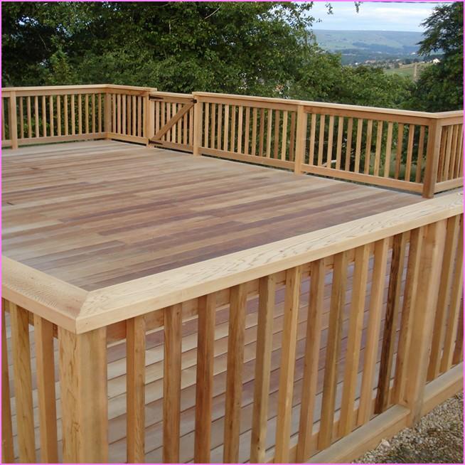 endearing ideas for deck handrail designs robust wood deck railing designs ZPCMGEI
