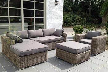 evergreen wicker furniture - sectional sofa - rattan furniture - patio WKHJEOR
