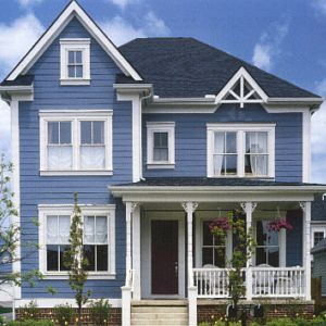 exterior house painting blog blue exterior painted house UGCJOBO