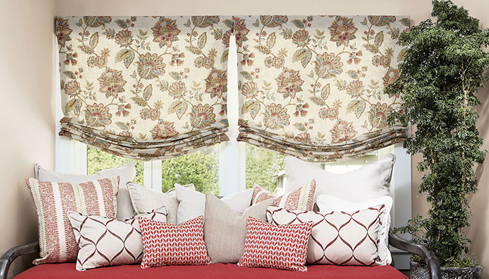 fabric shades bedrooms PKJEMLS
