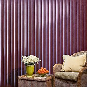 fabric vertical blinds large color selection PTICURG
