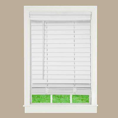 Admirable characteristics of Faux wood blinds