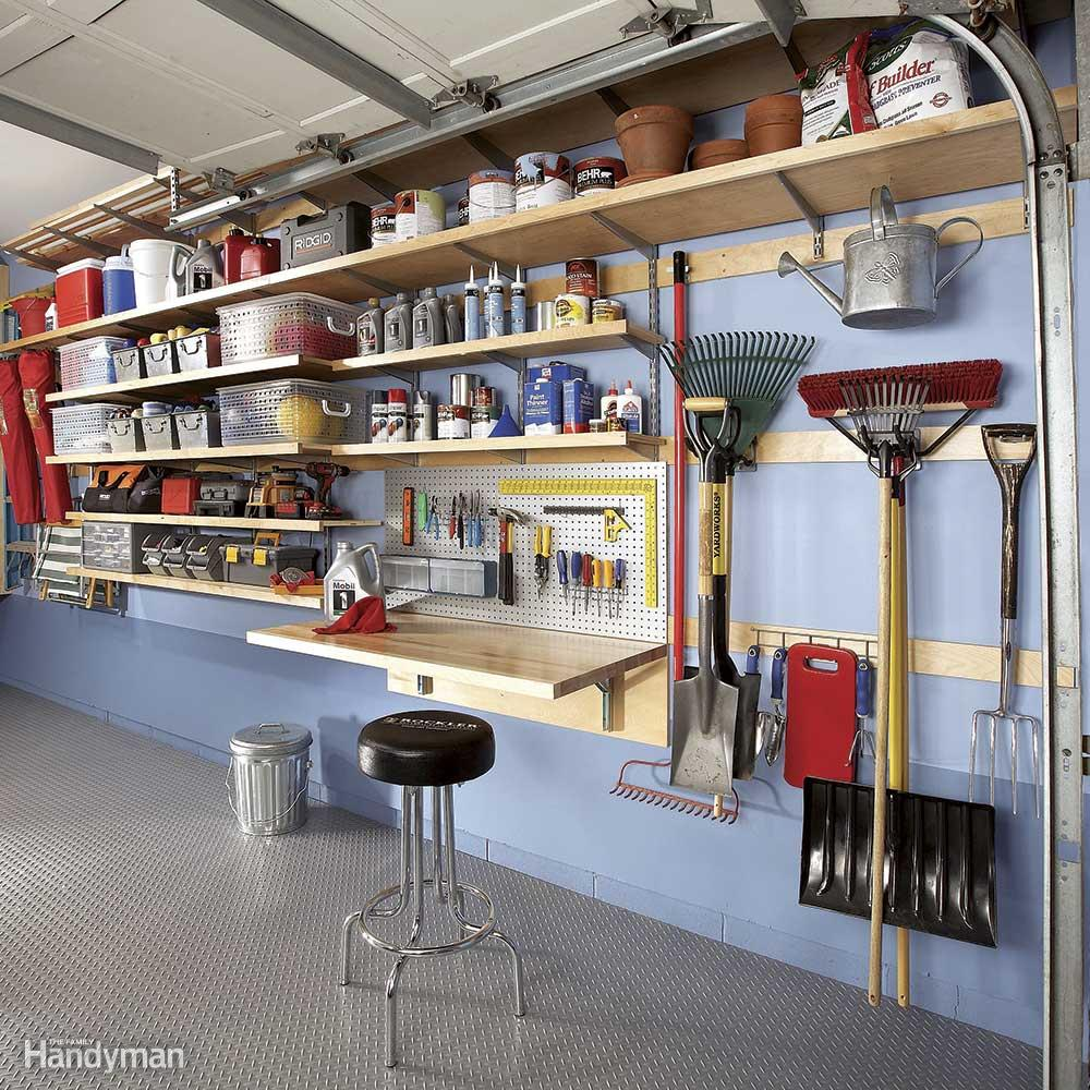 flexible garage storage wall OZLNHGA