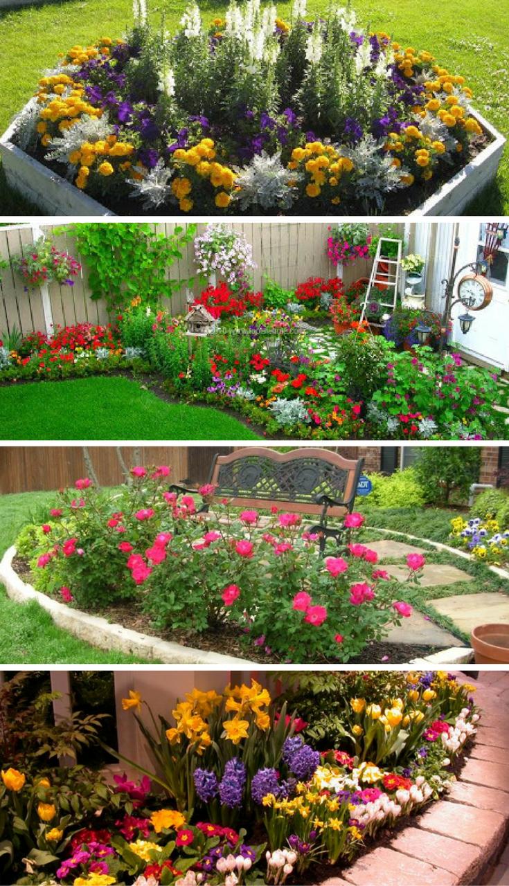 Vital tips of flower garden designs