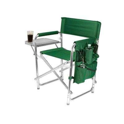 folding camping chairs green sports portable folding patio chair ... TBSEDUR