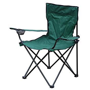 folding camping chairs milestone 1-seater folding fishing/ camping chair with cup holder and carry QLISZOH