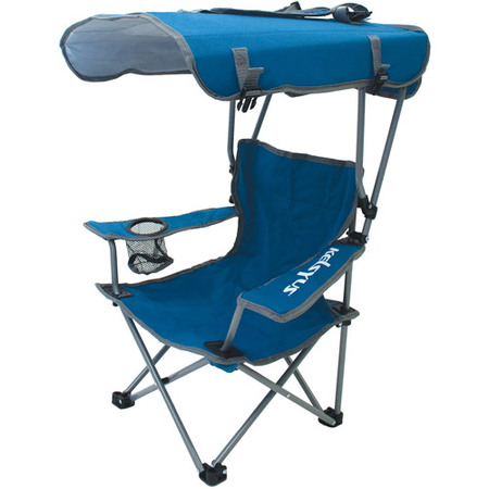 folding chair with canopy kelsyus kids canopy chair blue gray OLDGZCP