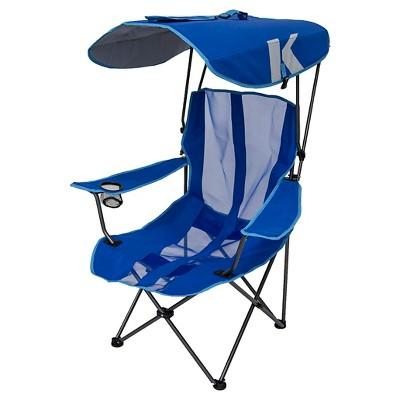 folding chair with canopy kelsyus original canopy chair - royal blue YADENKN