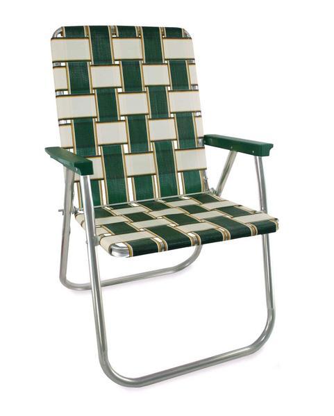 folding outdoor chairs lawn chair usa - charleston webbed folding aluminum chair VFNNDWZ