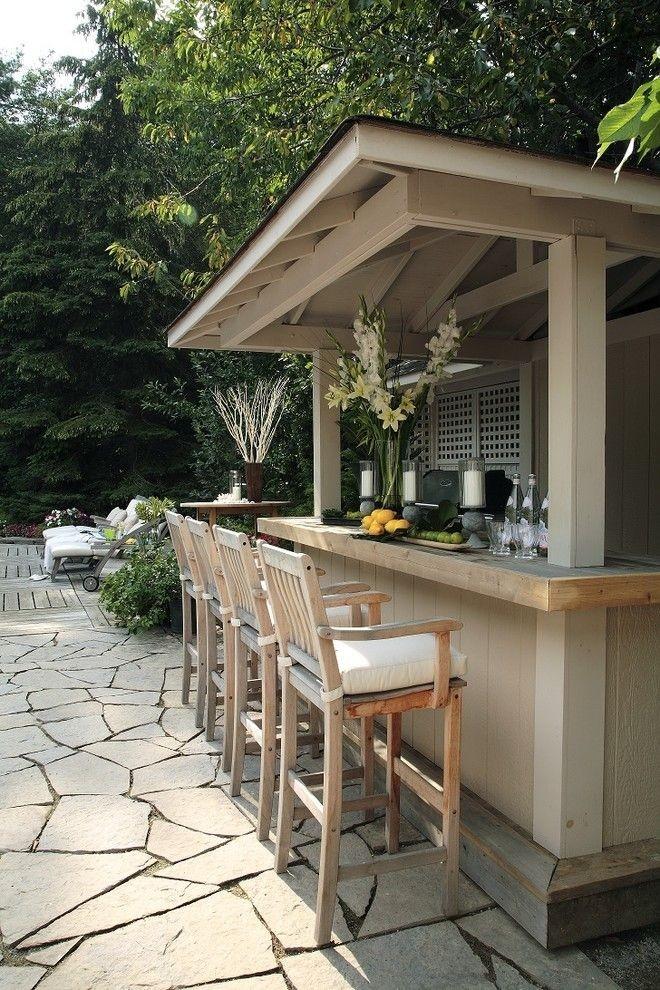 garden bar turn your shack into a mini backyard bar   backyard, bar and NKBQWZR
