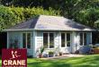 garden buildings | delivery u0026 installation incl. | crane garden building FIEOTVM