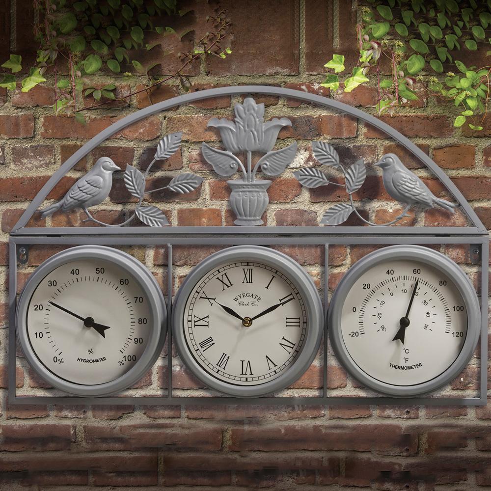 garden clock and weather station LOPHYEG